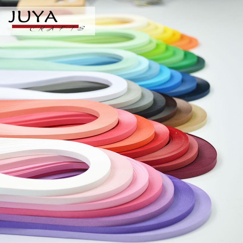 Quilling Papel JUYA 42 Cores, 390mm Comprimento, 3/5/7/10mm de largura, total de 4200 tiras Tira de Papel DIY Handmade Artesanato