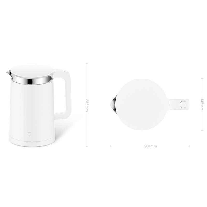 Orijinal Xiao mi mi elektrikli su Isıtıcısı Ile Sabit sıcaklık Kontrolü mi Ev APP Bluetooth 12 SAAT Termostat 1.5L