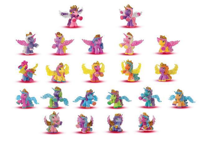 O для U Горячая оригинальные стекаются Filly лошадок Filly звезды с крыльями серии конек Куклы Коллекция действие куклы 5 -6 см игрушка ...