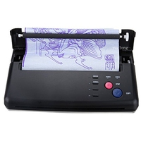 High Quality T Tattoo Stencil Transfer Machine Black Thermal Copier Maker For Transfer Papers For Free