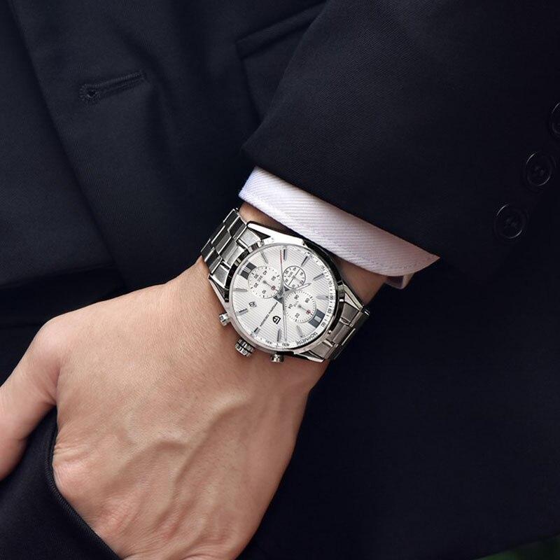 Montre homme mode classique Top marque Pagani Design montre Quartz multifonction sport militaire montres hommes Relogio Masculino 2016