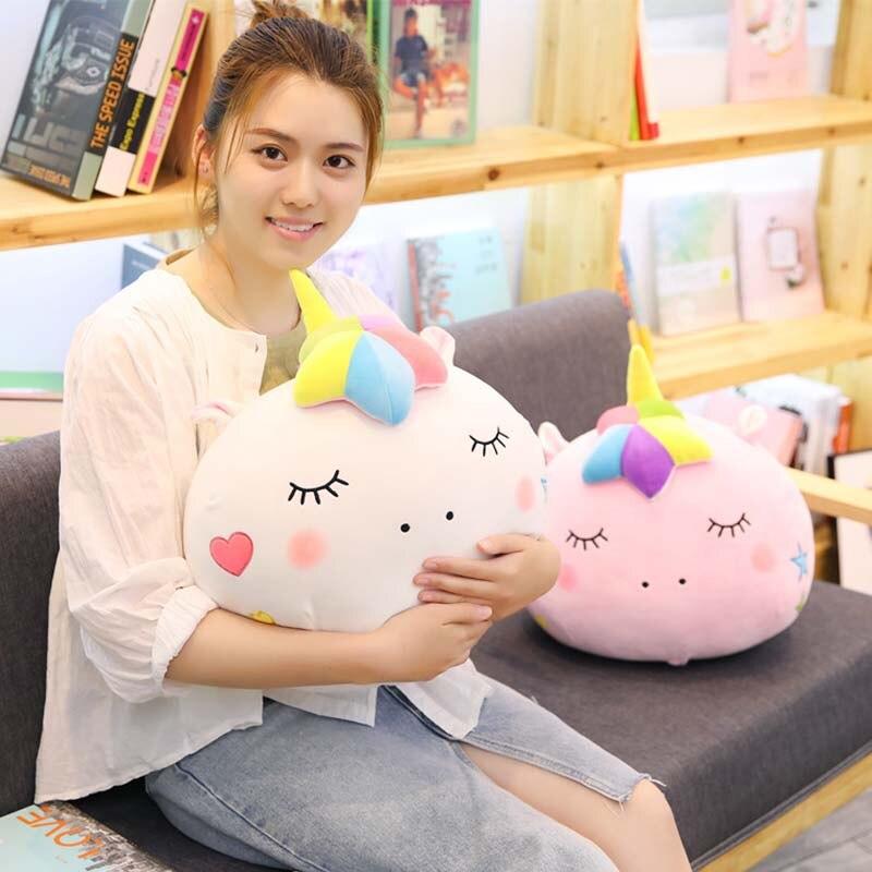 1 pc 40 cm 4 padroes cobertor 1 7x1 m pegasus unicornio boneca de brinquedo de
