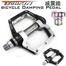 Factory production10321 HOT  bicycle pedal mountain bike pedal techkin aluminum alloy belt slip-resistant foot rockbros 9 16 magnesium alloy bicycle pedal titanium spindle ultralight mountain bike pedal 5 colors