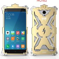 For Xiaomi Redmi Note 2 Phone Cases Original Simon Design Metal Aluminum Anti Knock Armor Thor