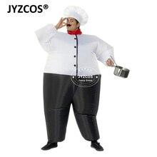 Každoroční událost Party Bar Nafukovací kostým Big Chef Fancy Suit