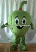פלפל ירוק קמע תלבושות למבוגרים