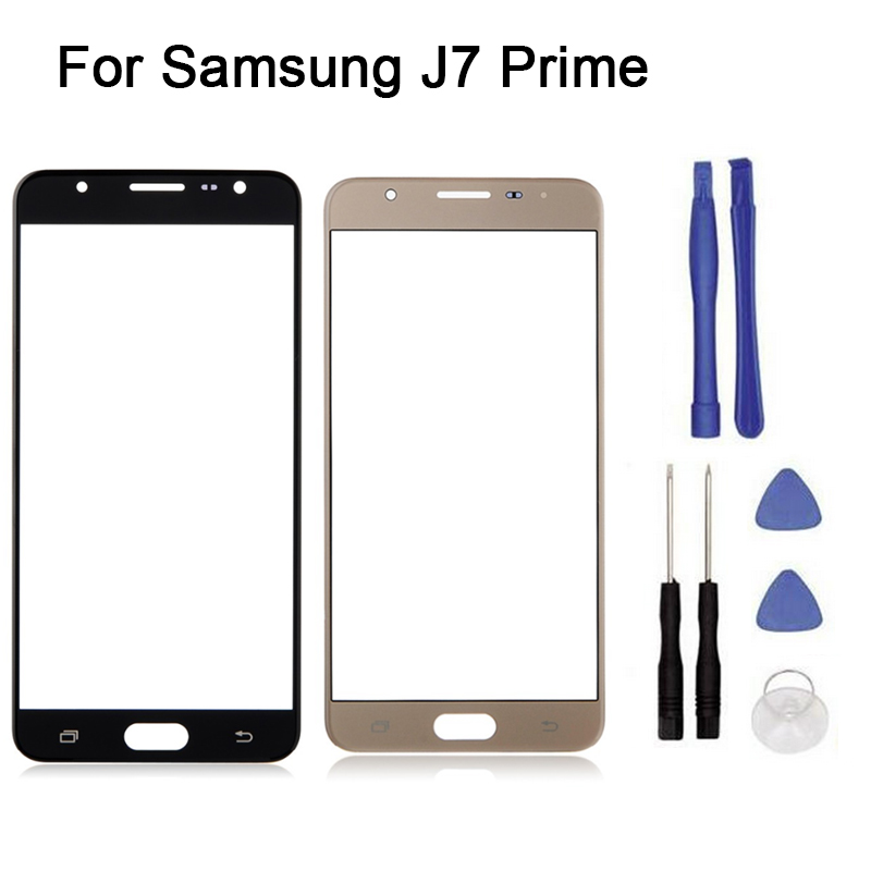 New Touch Screen For  Samsung Galaxy J7 Prime On7 2016 G6100 Touch Screen Front Glass Touch Panel Replacement+tool