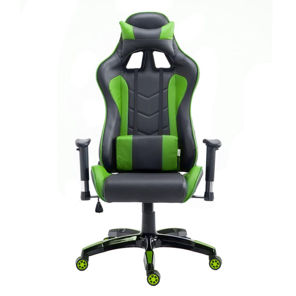 Enjoyable Us 117 99 Goplus High Back Executive Racing Reclining Gaming Chair Swivel Pu Leather Office Computer Chair Ergonomic Game Chairs Hw53863 In Office Ncnpc Chair Design For Home Ncnpcorg