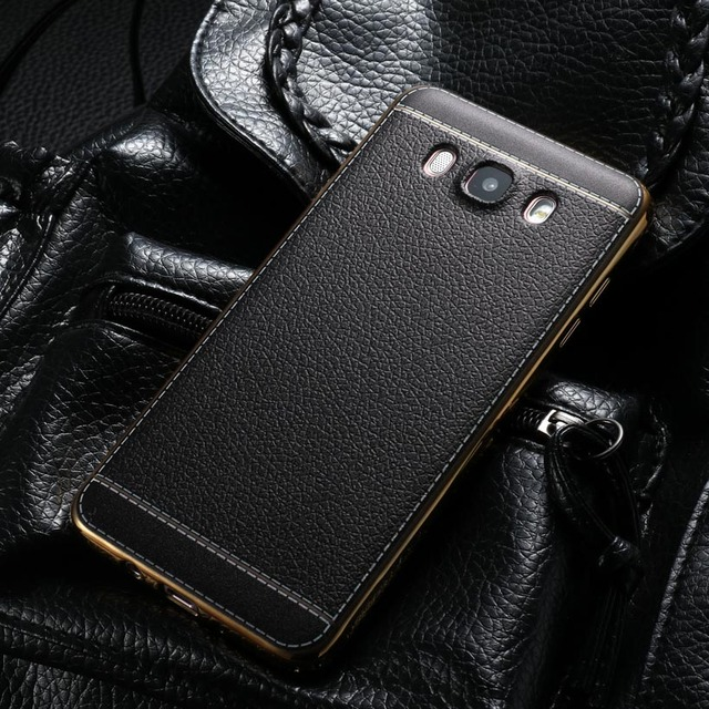 AKABEILA TPU Leather Phone Cases For Samsung Galaxy J7 2016 J710 J710F J710H J7108 J7109 J7100 Coverss Back Bag Shields