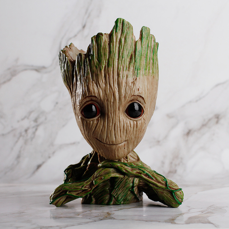 New Baby Flowerpot Groot Action Figures Home Decoration Toy PVC Creative Crafts Figurine Guardians of the Galaxy Drop Shipping