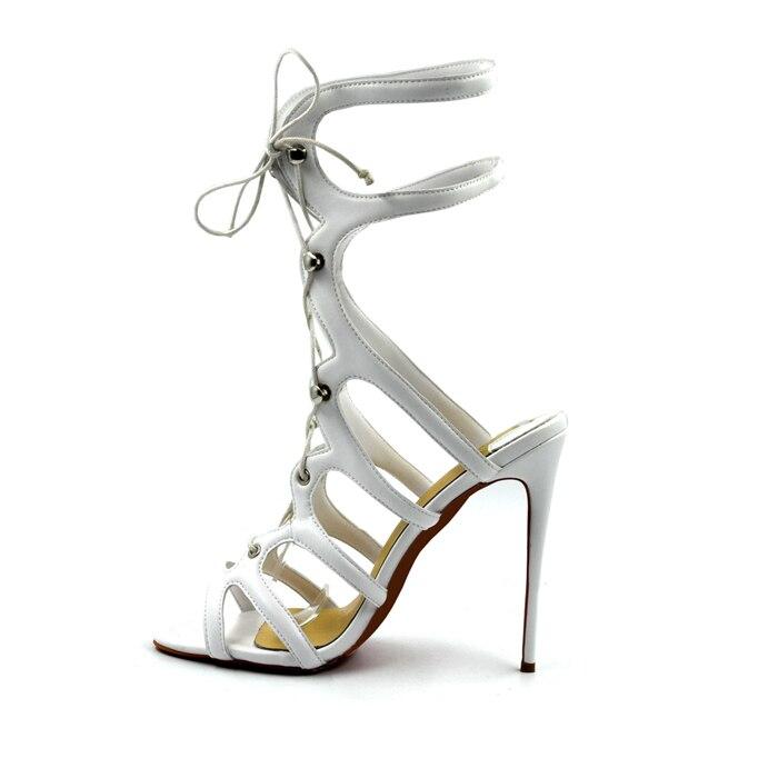 white Gladiator Größe Mode 10cm Black 12cm 8cm 12cm Frauen Sexy Neue white 8cm Schuhe Rom Sandalen 35 white black Sommer Heels Dünne Partei Matte Stil 45 10cm High Farbe black p0SOn5wx