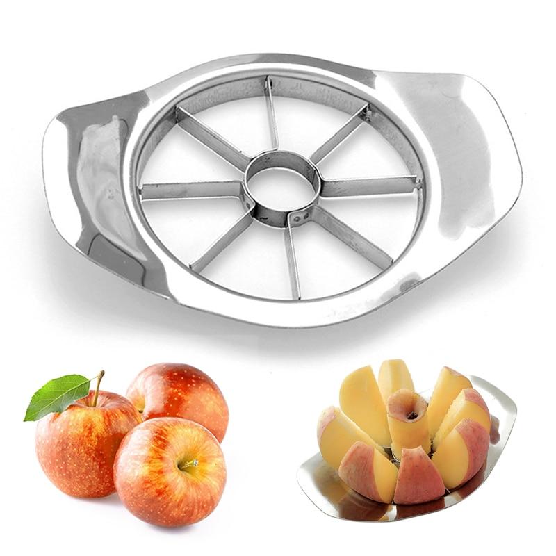 1PCS Stainless Steel Apple Cutter Fruit Slicer Apple Peeler Shredder Fruit Divider Tool Vegetable Fruit Tools Kitchen Gadgets