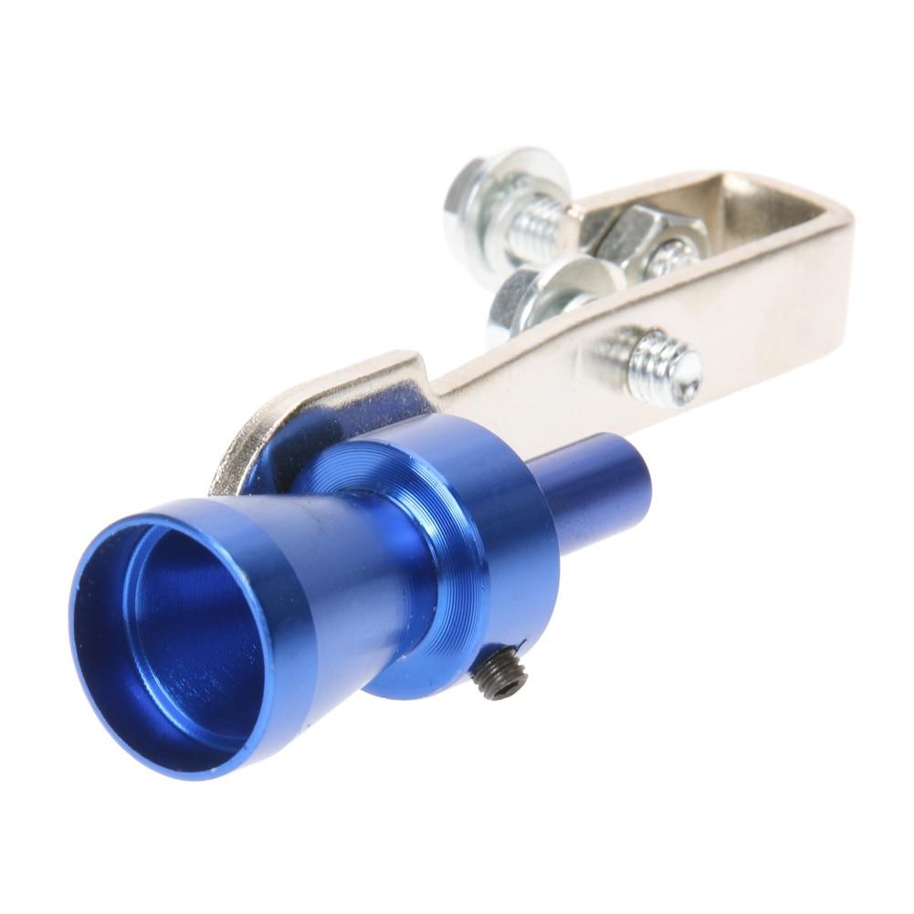 Universal Car Turbo Sound Whistle Ljuddämpare Avgasrör Whistle Fake - Reservdelar och bildelar - Foto 5