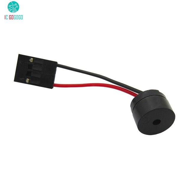 5 piezas Mini enchufe placa base altavoz alarma Buzzer PC ordenador chasis zumbador altavoz DIY bip alarma