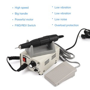 Image 4 - Strong 90 65W 35000RPM Professional Electric Nail Art Drill Machine Stainless Steel Pedicure Nail Polishing Manicure Machine