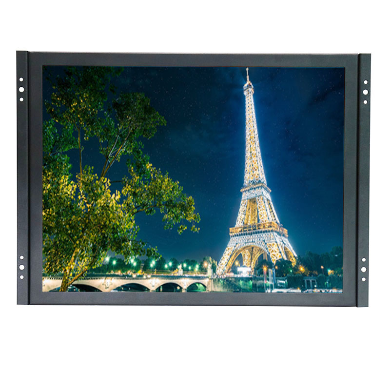 15 inch low cost capacitive touch screen monitor 1024*768 outdoor touch screen monitor with AV/BNC/VGA/HDMI/USB interface