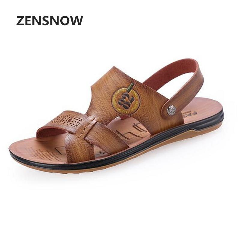 Summer Mens Sandals Fashion 2018 New Personality Comfort Antiskid And Wear-resistant Men Sandals