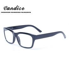 Reading Glasses Spring Hinge Stylish Designed Men and Women Glasses Large Frame Rectangular Inludes Sunglass Readers for Reading