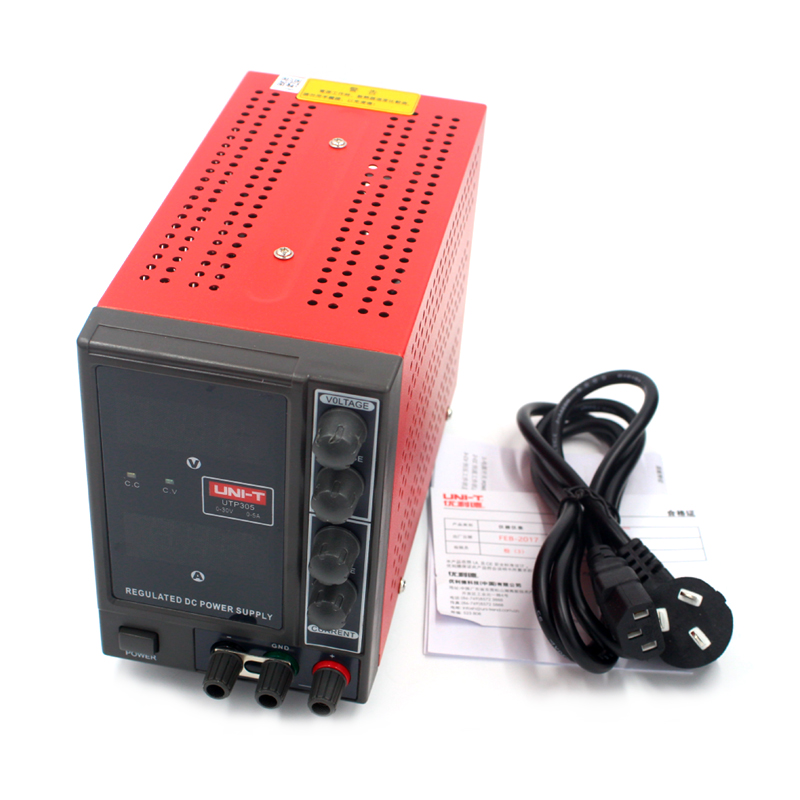 UNI-T UTP305 DC Power Supply Single AC 110V/220V Adjustable DC Regulated Power Supply dc power supply uni trend utp3704 i ii iii lines 0 32v dc power supply
