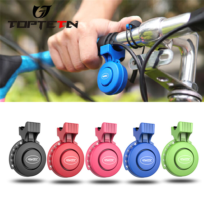 120db USB charging Bicycle Bike Handlebar Ring Electronic Bell Horn IP65 Waterproof 3 Modes Loud Alarm Bell Safety Cycling Bells