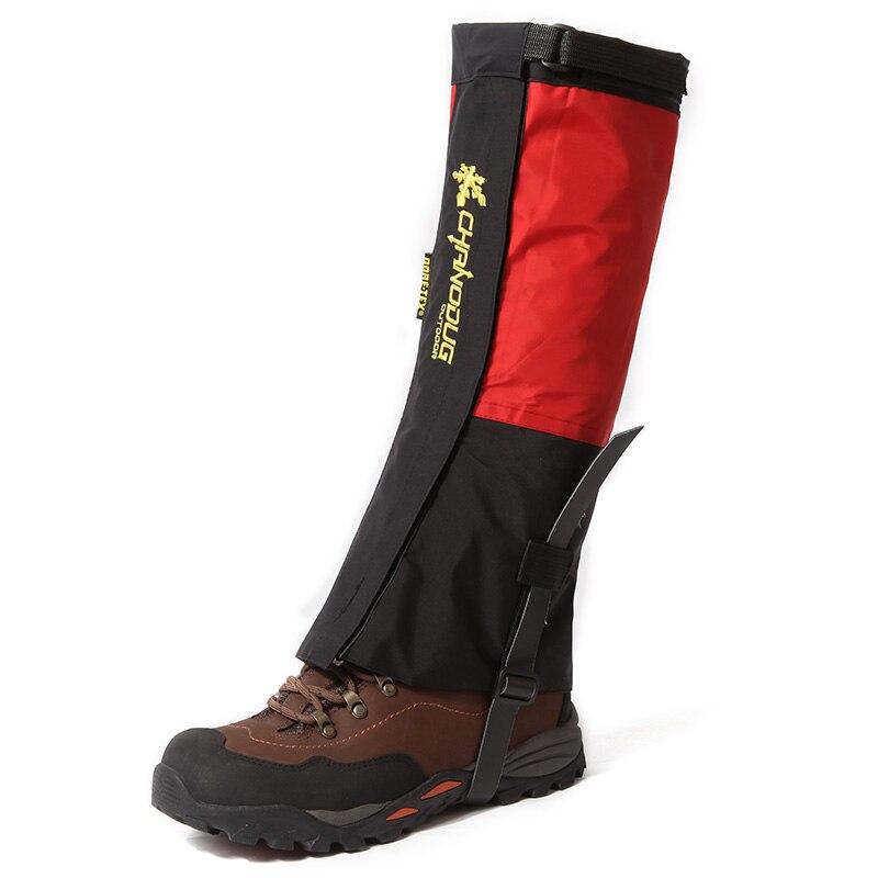Prix pour Jambe Gaiters Tissu Soufflet Étanche Neige Soufflet Pour Ski Camping Et Randonnée 1 Paire Camouflage Rouge Bleu