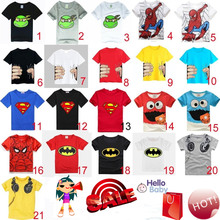 HOT 2017 New Summer children clothes boys girls unisex t shirt cartoon Minions font b kids