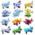Creative Wooden Toys Mini Airplane Toy Kids Baby Educational Gift Randomly Sent