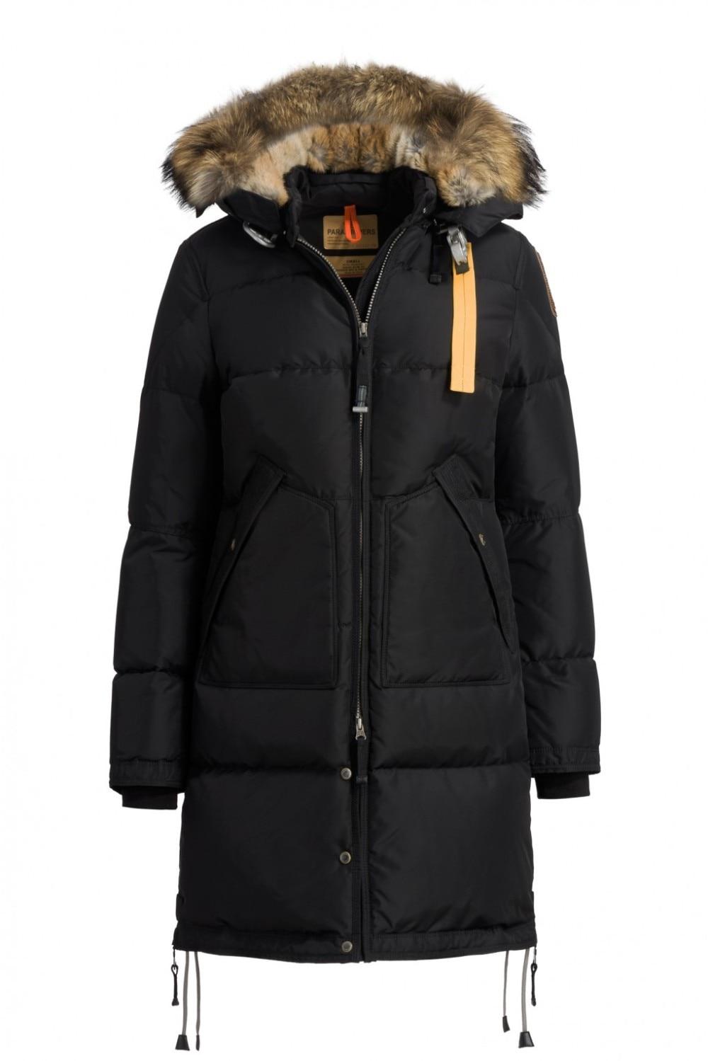 2018 hiver chaud ski Vers Le Bas Veste vers le bas longue ours femmes veste vers le bas parka livraison gratuite