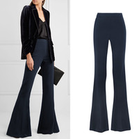 Longer Size Can fit flare pants 2019 new Fashion brand England style big flare was thin trousers