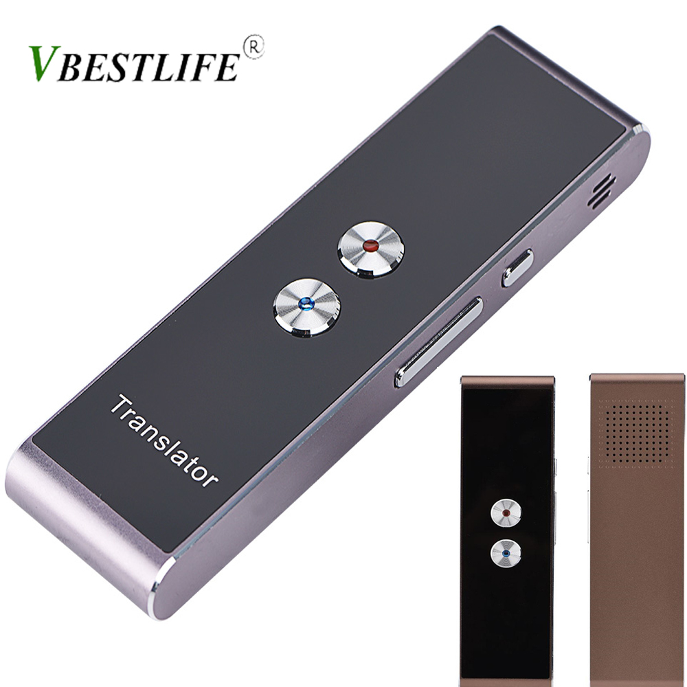 Portable Translator Smart Voice Translator Two-Way Real Time Multi-Language Translation For Learning Travelling Business Meeting