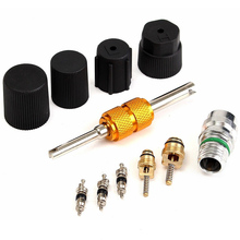 Replacement Car A/C System Maintenance Kit R134a Valve Core Service Remover