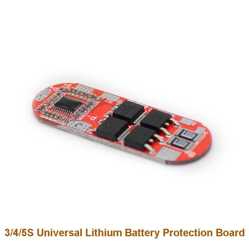 1S/2S/3S/4S/5S  Li-ion Lithium Battery 18650 Charger PCB BMS Protection Board Lipo Cell Module With Balancer