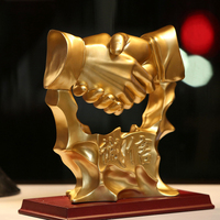 Good faith hand office desktop furnishing pieces opened for business gifts fortune home decoration art creative wedding gift