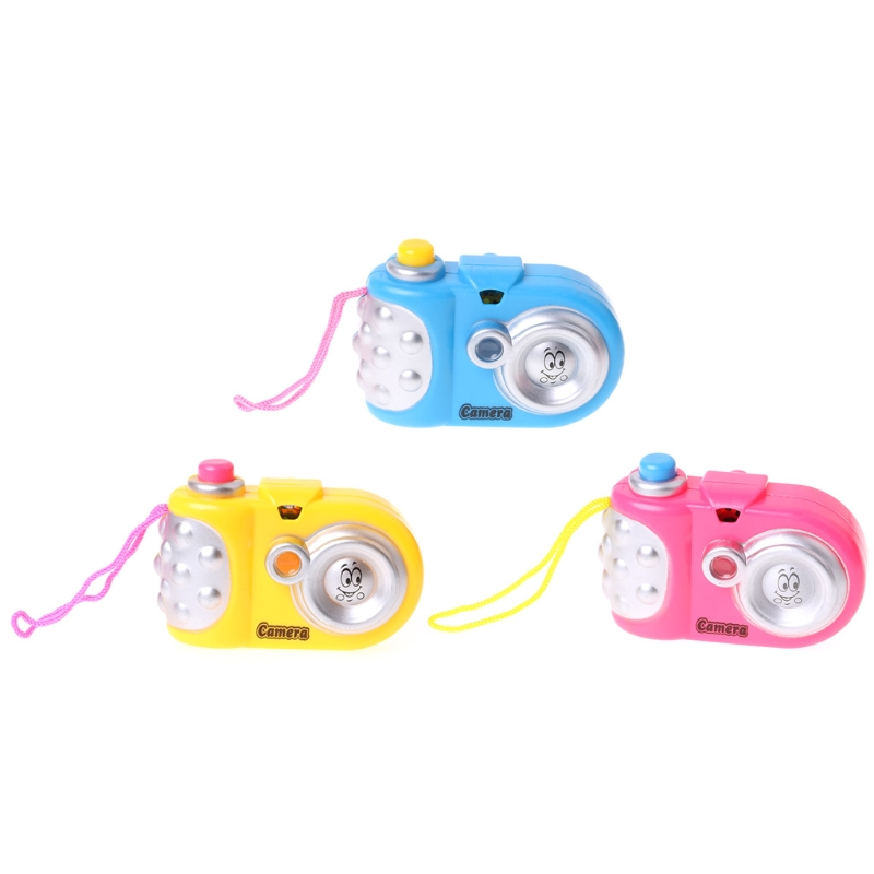Learn Study Toy Projection Camera LED Light Educational Toys For Kids Children