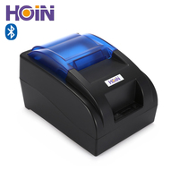 HOIN HOP H58 58mm Wireless Thermal Printer Bluetooth ESC POS USB Recepit Printing Machine Support Android iOS Cash Drawer