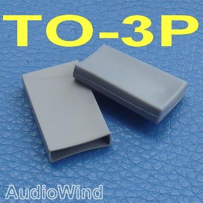 ( 10 Pcs/lot ) TO-3P Transistor Silicone Rubber Cap, Insulator.