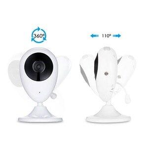 Image 4 - אלחוטי וידאו צבע תינוק צג עם 2.4 סנטימטרים LCD 2 דרך אודיו דיבור ראיית לילה מעקבים אבטחת מצלמה בייביסיטר