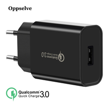 Oppselve 18W Quick Charge 3.0 USB Charger & QC 2.0 Wall Phone Charger For Phone iPhone XS Max X 8 Samsung S9 Xiaomi Fast Adapter стиральный порошок sorti супер эконом 8524 3 350 г