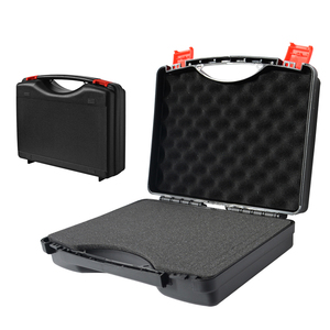 280x230x80mm ABS Plastic Storage Toolbox Safety Instrument Tool Box Equipment Instrument Tool Case Dry Box Shockproof with Foam