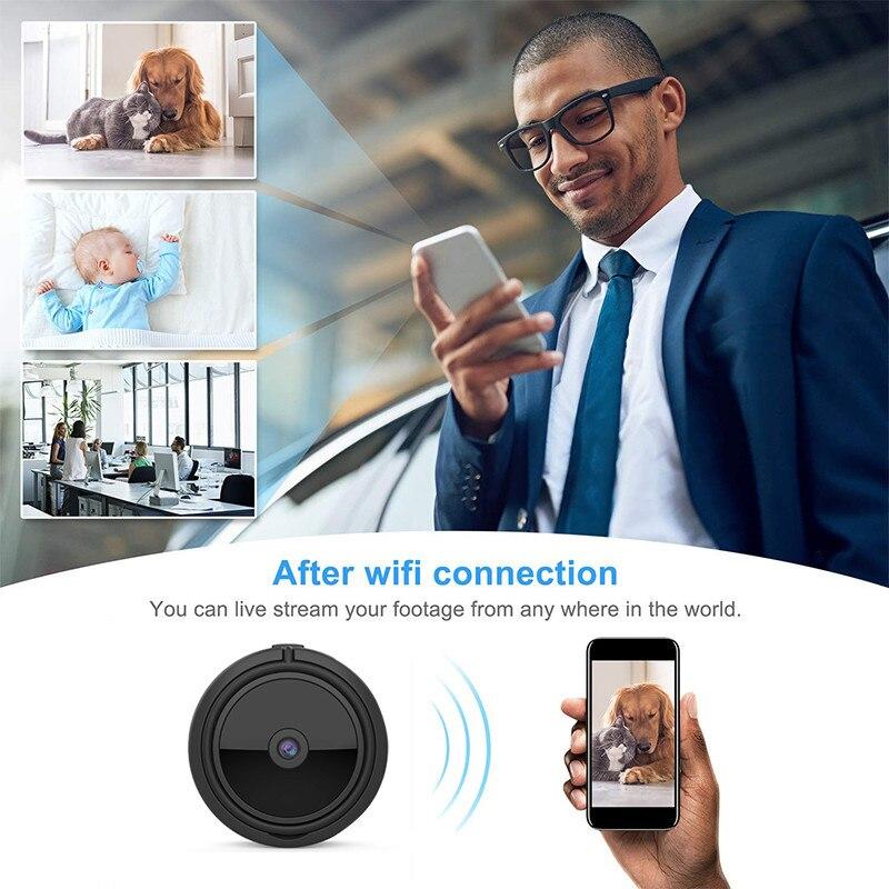 A11 Wifi IP Portable mini caméra Full HD 1080 P Secret Caméra IR vision nocturne micro caméra caméra de détection de mouvement