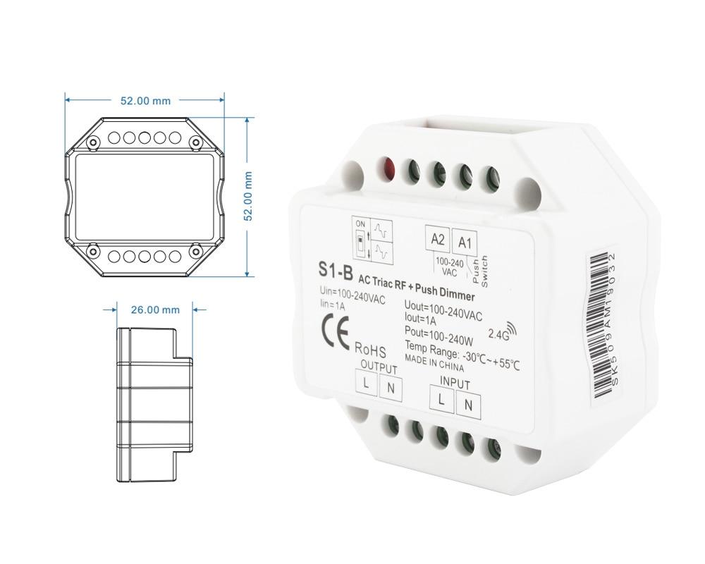 wireless dimmer 220v