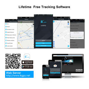 Image 5 - 미니 gps 트래커 자동차 gps 트래커 방수 ip65 google지도 실시간 트랙 충격 컷 라인 알람 gps 로케이터 지오 펜스 무료 app