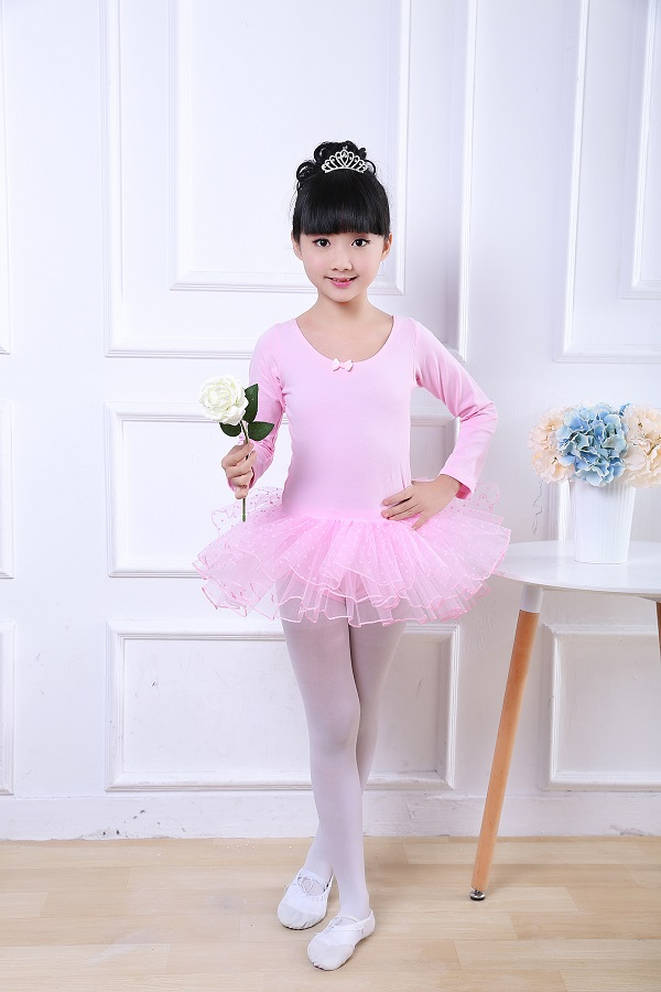 Kids Ballet Tutu Dress Dance Costume Children Pink Fairy Girls Ballet Dress For Children Dancewear