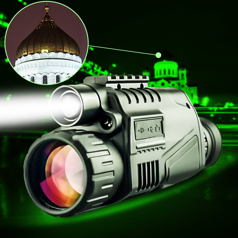 Hot Sale High Magnification Digital Night Vision Device With Video Output Telescope High Quality Optical Glass Excellent Image 5x42 hunting night vision magnification camouflage high definition night vision telescope portable infrared camera video