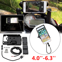 for BMW S1000R S1000XR 15 17 Mobile Phone Navigation Bracket Mount Stand moto USB Charging For i Phone