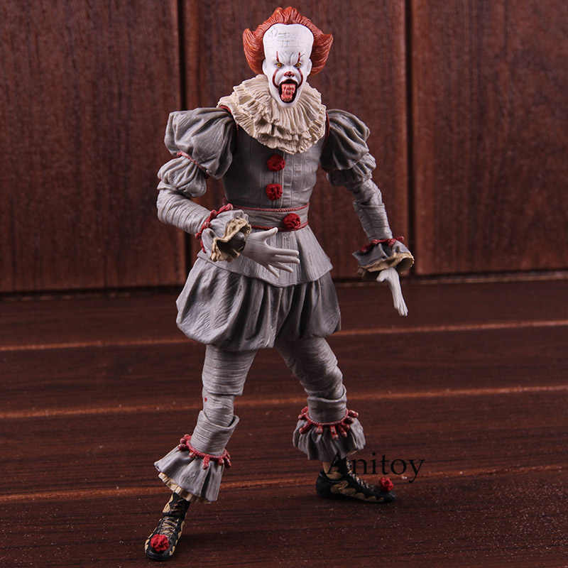 NECA Pennywise Stephen King's It the Clown figurine d'horreur PVC figurine à collectionner modèle jouet