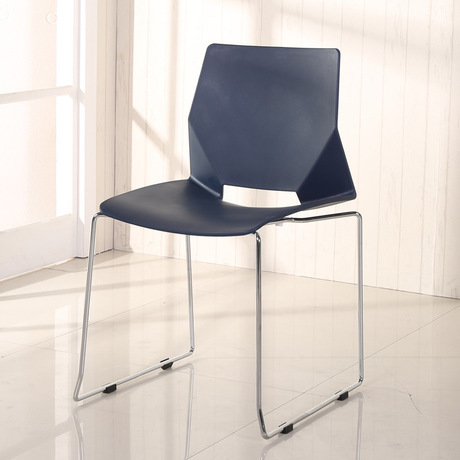 Conference Chair Commercial Furniture Office Plastic Stainless Steel Minimalist Modern Computer New