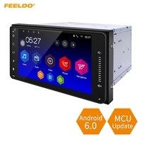 FEELDO 7inch Short Case Android 6 0 Quad Core Car With GPS Navi Radio For Toyota