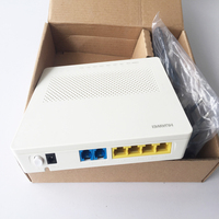 10pcs Original HG8240F GPON 4 ethernet and 2 voice ports SIP should be in FTTH FTTB FTTX FTTC English version HG 8240F