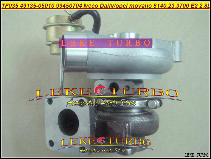 TF035 49135-05010 53149886445 99450704 49135 05010 Turbo Turbocharger For IVECO Daily 2 Master For Opel Movano 8140.23.3700 2.8L german truks iveco stralis промтоварный